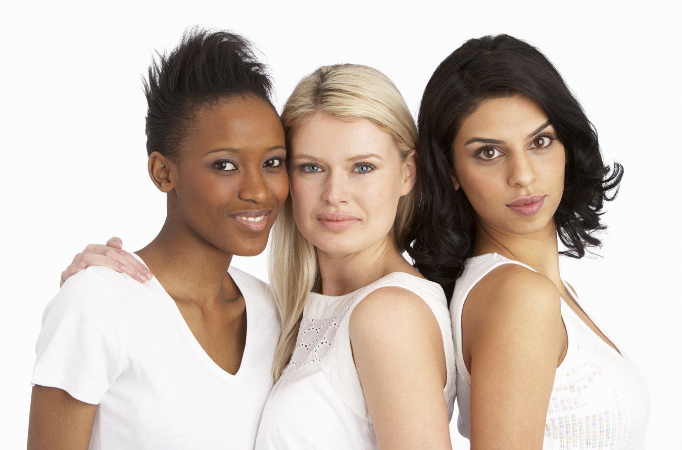 Три девушки фото портрет
